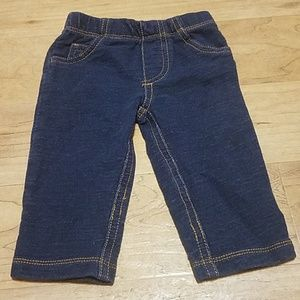Carter's 6 months baby jeans